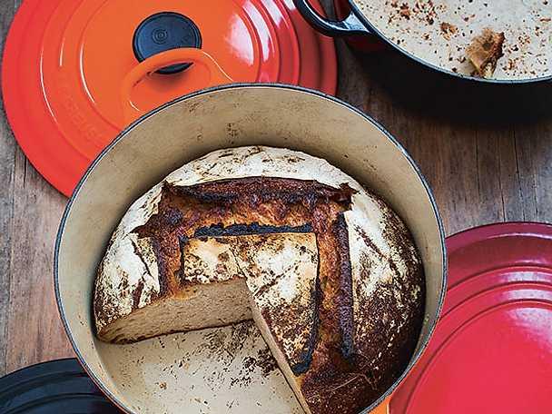 Ljust bröd på poolish