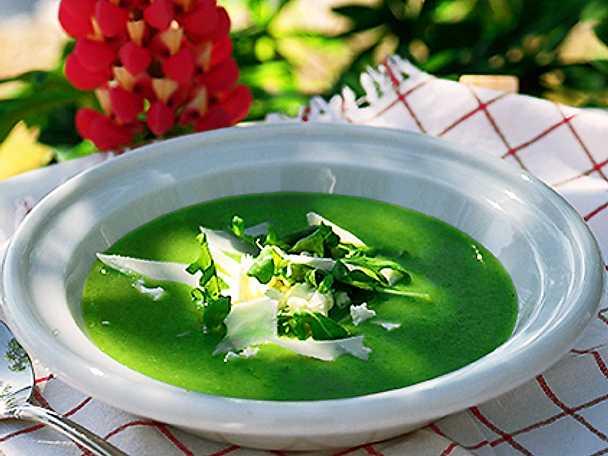 Ljuvlig krassesoppa