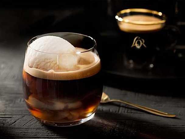 LOR Espresso Kaffe med vaniljglass
