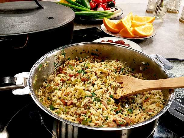 Louisiana dirty rice