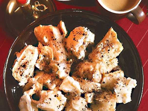 Lutfisk med senapssås