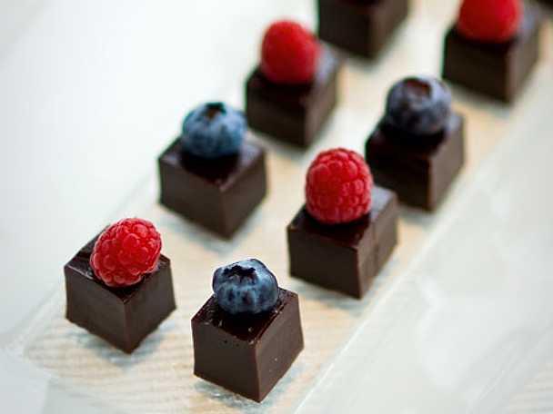 Lyxig chokladkolatryffel