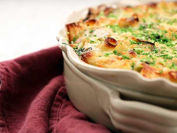 Mac 'n' cheese med grönkål