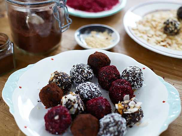 Maca bliss balls