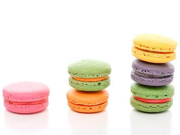 Macarons steg för steg