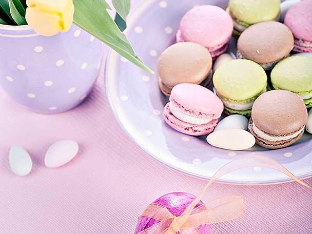 Macarons till påsk