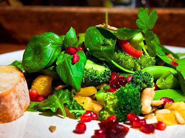 Malins matiga rawfoodsallad