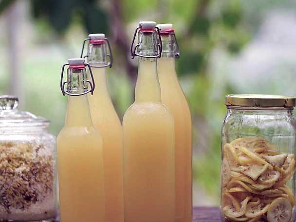 flädersaft utan citronsyra recept