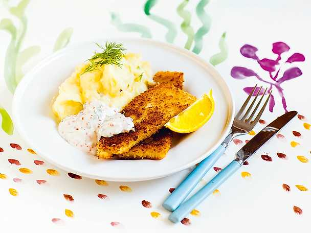 vegetarisk fisk recept