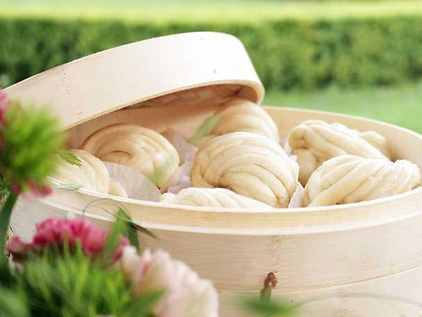 Mantou - ångat bröd