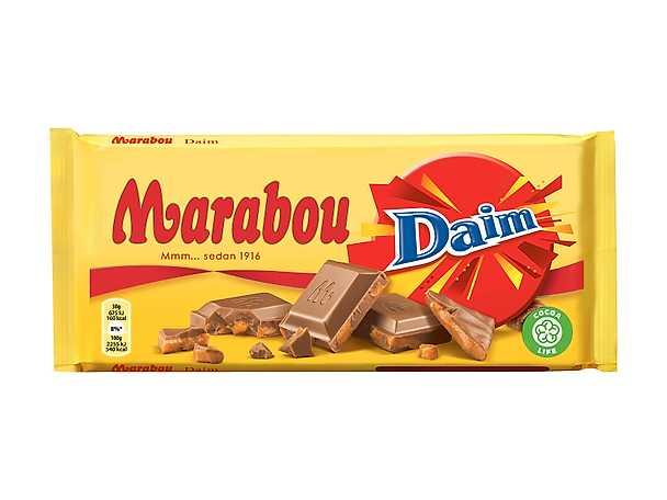 Marabou Daim produkt