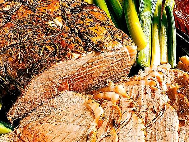 Marinerad skinka med vingelé