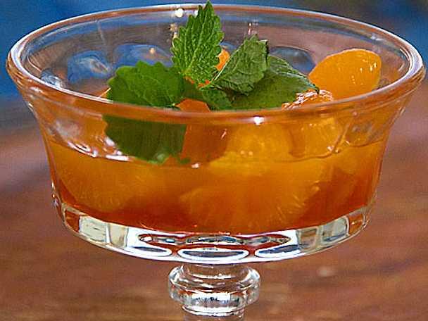 Marinerade mandarinklyftor