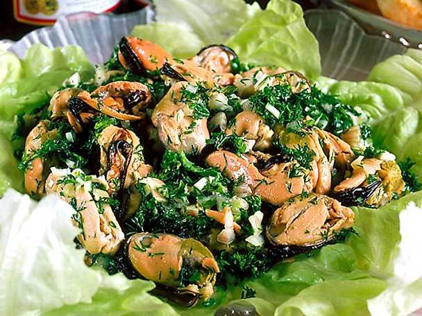 Marinerade musslor