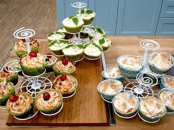 Martins cupcakes med retrosmaker