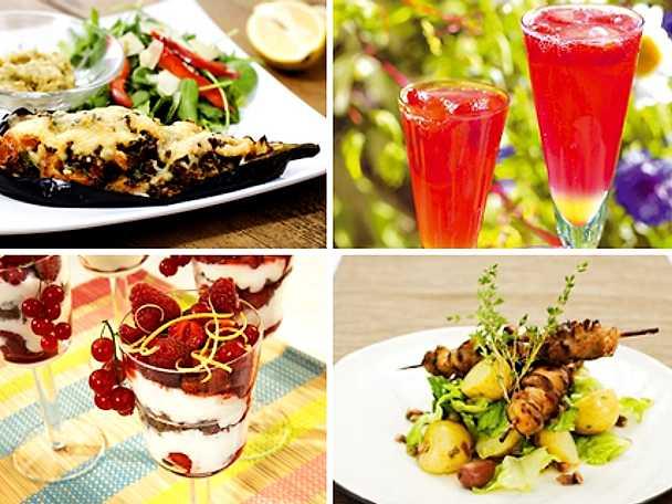 Mat och dryck för en härlig helg