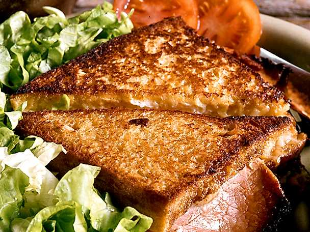 Matig croque monsieur