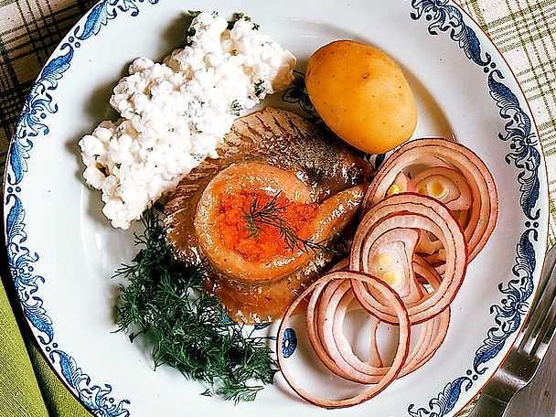 Matjessill med kaviar