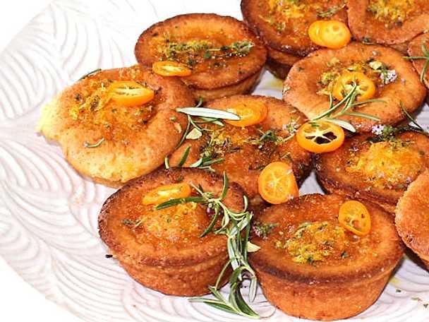Matmuffins med rosmarin och timjan