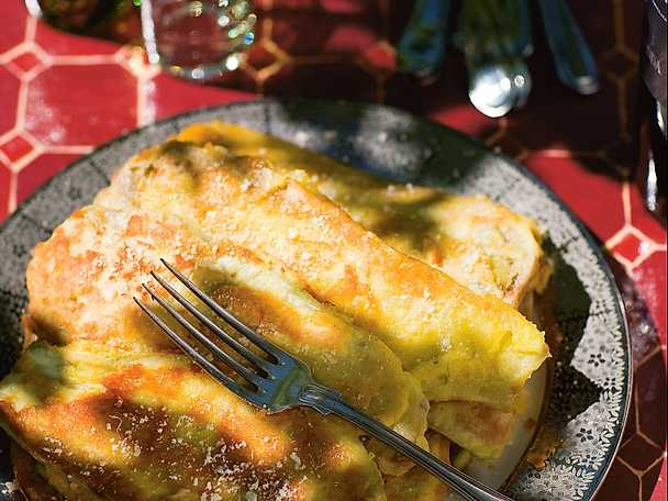 Melanzane impanate nelle uova e parmigiano - auberginepannkaka