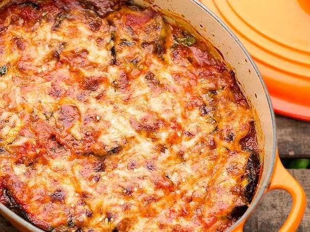 Melanzane parmigiana, Jessica Frejs recept