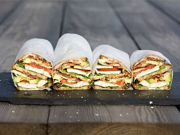 Melkers Club Sandwich