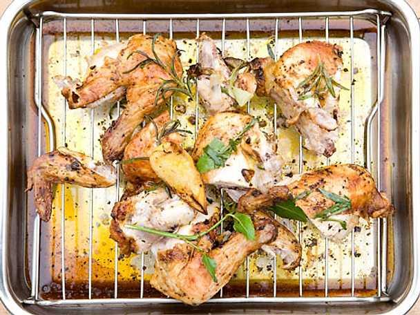 Melkers grillade kyckling