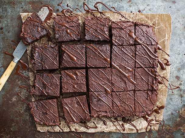 Memorycake - brownie på svarta bönor