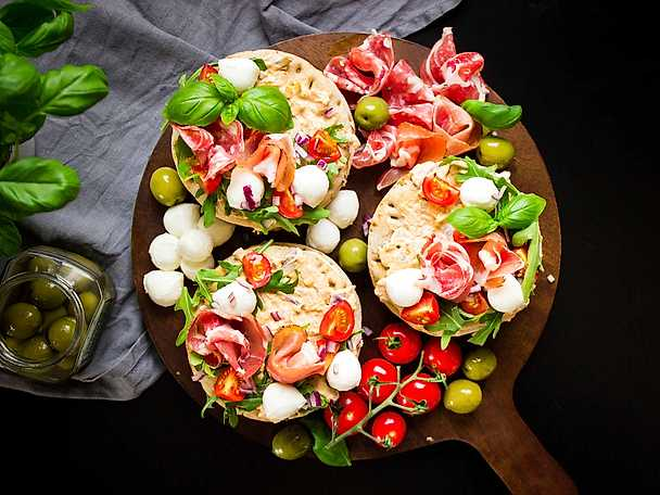 Minismörgåstårtor – tapas style