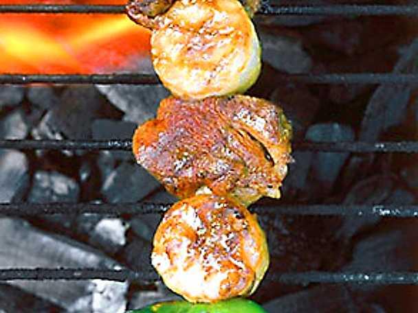 Mixat grillspett