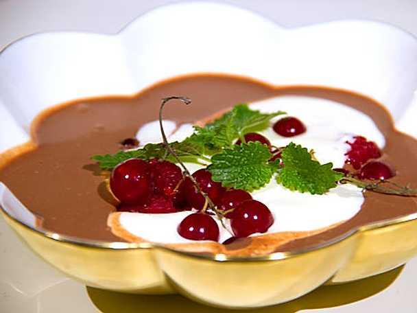 Mjölkchokladsoppa