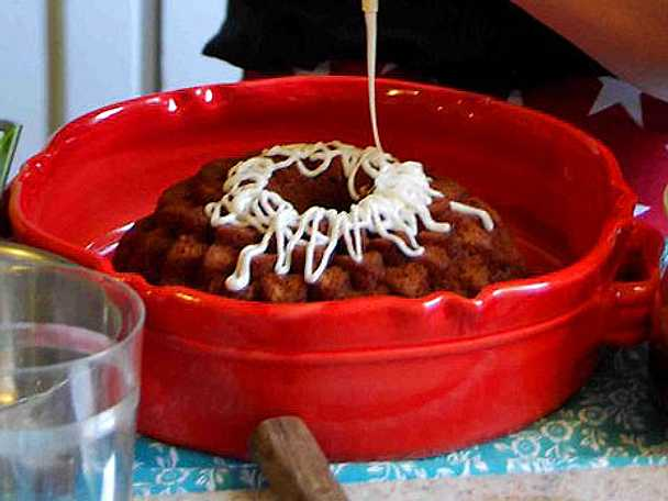 Mjuk pepparkaka med lingonsylt