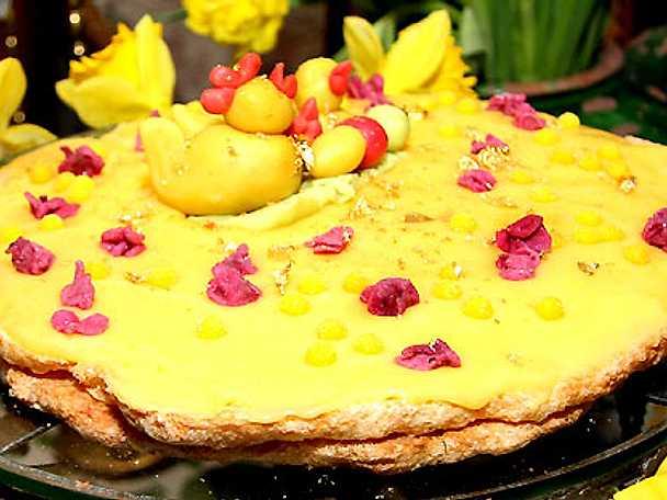 Monika Ahlbergs Oscar II-tårta