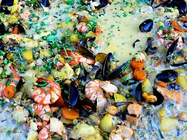 Morbergs fisksoppa