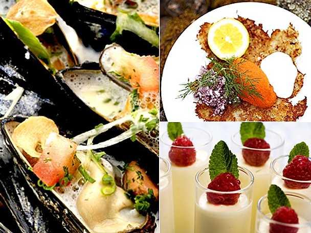 Morbergs musslor och citronfromage
