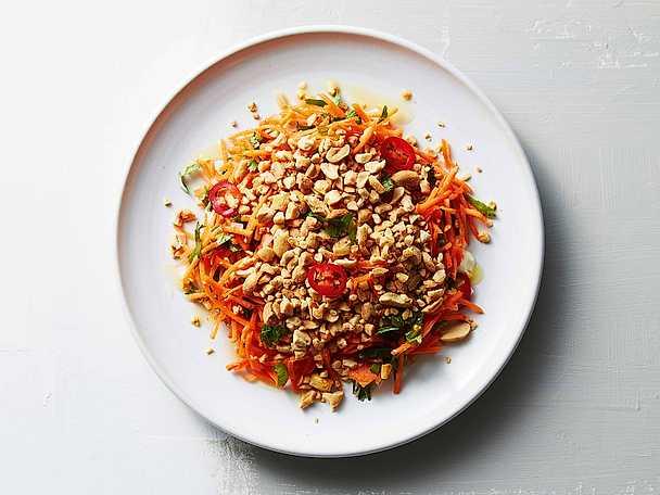 Morot Vietnam med aioli, chili och jordnötter