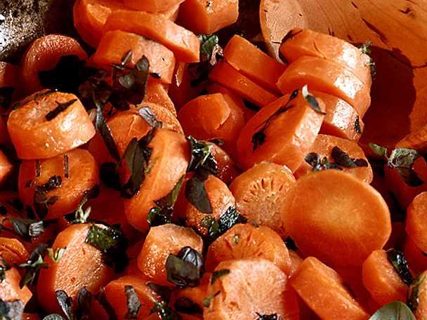 Morötter med örtkryddor