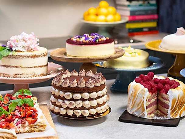 Mosaik Teas tårtkurs