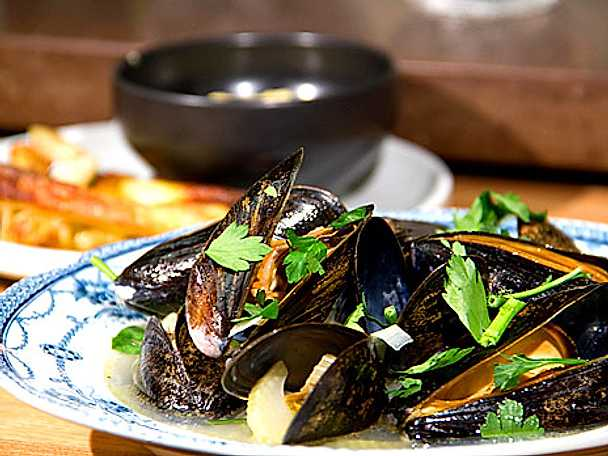 Moules á la Princess