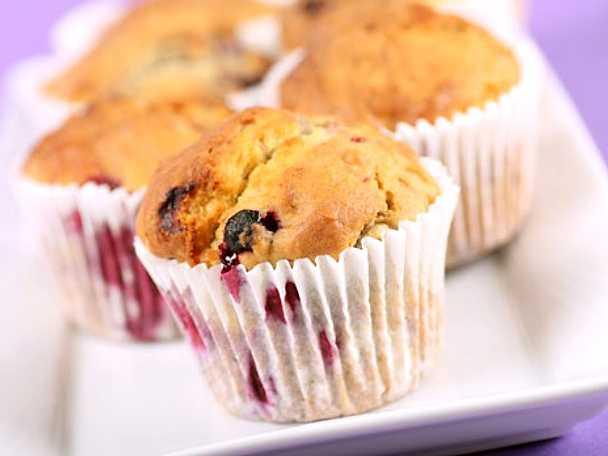 muffins med bär