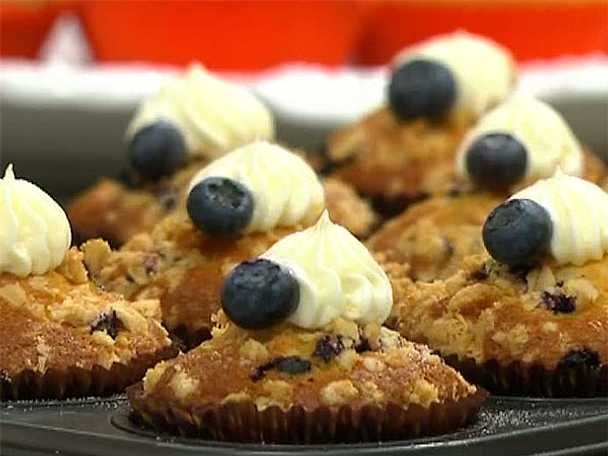 Muffins med crumble
