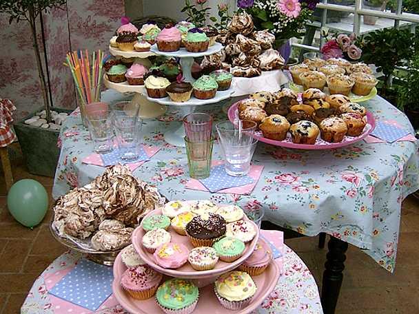 Muffins och cupcakes, Leilas recept