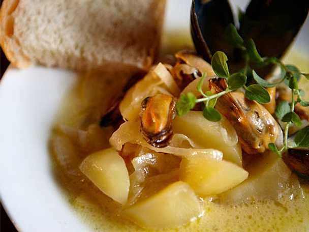 Musselsoppa – Clam chowder