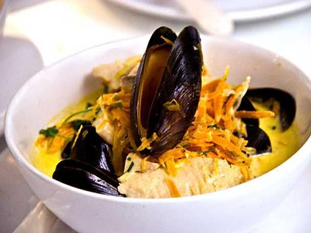 Musselsoppa med en smak av Lappland