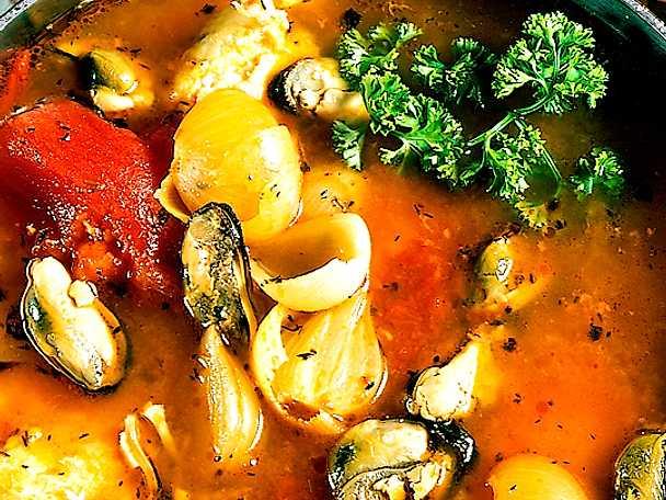 Mustig fisksoppa