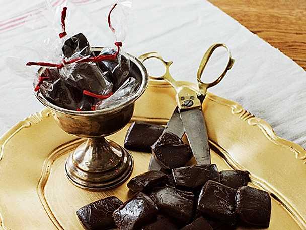 Mustig gräddchokladkola