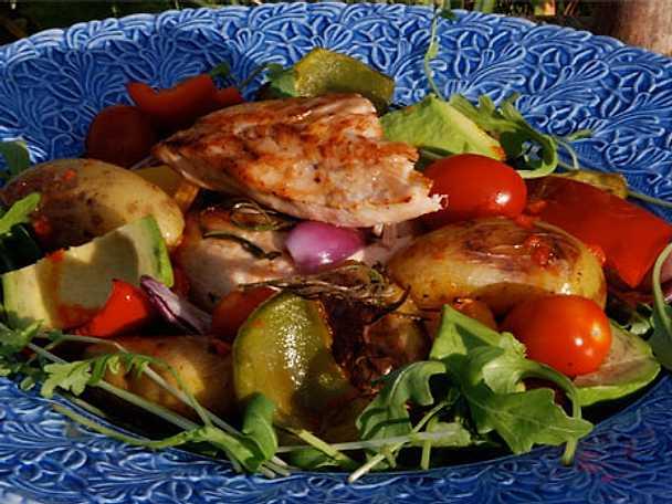 Ninas kycklingsallad