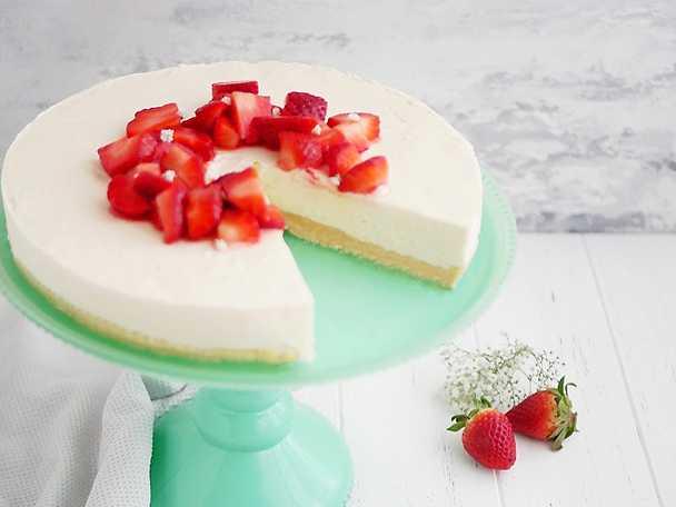No bake flädercheesecake med drömmar