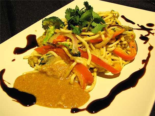 Nudel- och currywok - Thai shanti