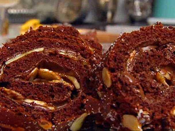 rulltårta nutella recept